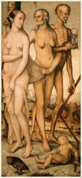 Las edades del hombre, de Hans Baldung. Museo del Prado, Madrid.
